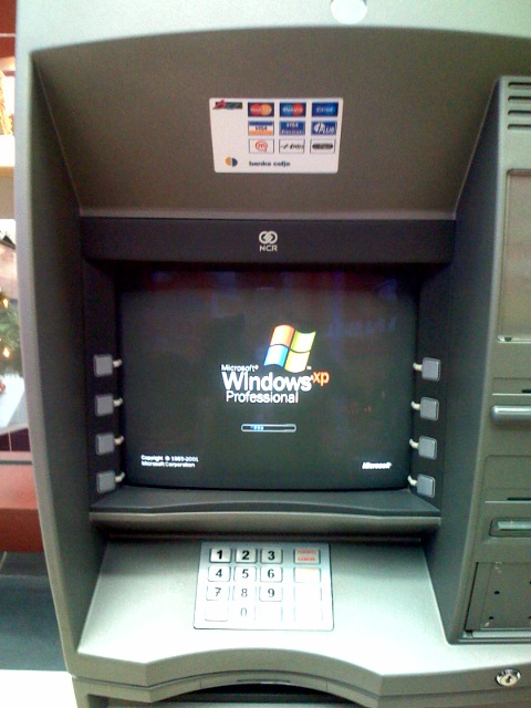 windows xp bankomat